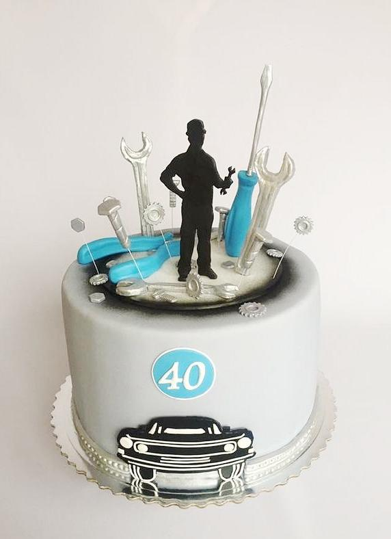 modelos de tortas para hombres